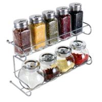 BAIJIE 拜杰 家用透明玻璃调味罐 调料瓶 10件套