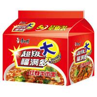 康师傅 超福 红烧牛肉味 五连包