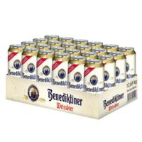 Benedikeiner 百帝王 小麦啤酒 500ml*24听+PREUSSEN 普鲁士黑啤酒 500ml*24听