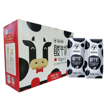 MODERN FARMING 现代牧业 常温酸 风味酸牛奶 200ml×3包
