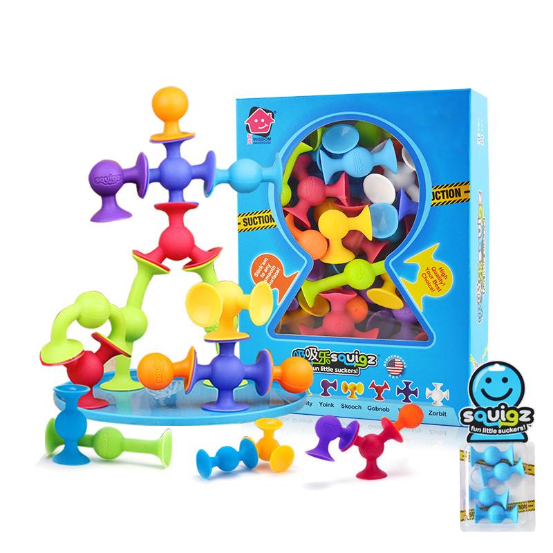 WISDOM WAREHOUSE 智库 儿童早教益智积木玩具拼装