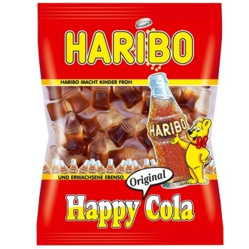 HARIBO 哈瑞宝 快乐可乐橡皮糖(可乐味)200g
