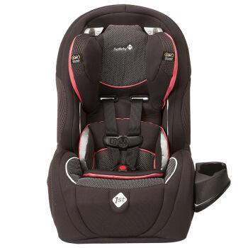 Safety 1st 美国进口全空气65成长型宝宝儿童汽车安全座椅 9个月-12周岁 黑红色 LATCH接口