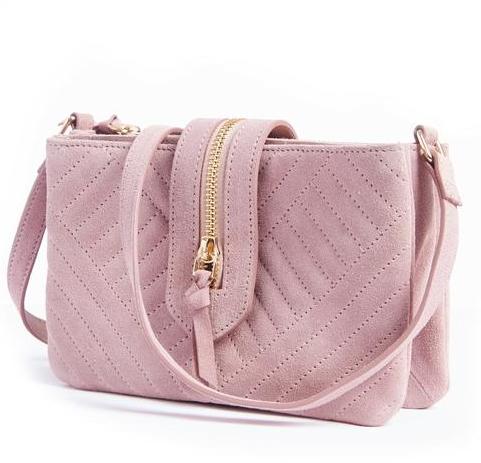Mademoiselle R 女士麂皮包