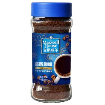 Maxwell House 麦斯威尔 香醇速溶黑咖啡 200g*2瓶+麦斯威尔香醇咖啡100g