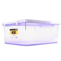 TENMA 天马 收纳箱 卡式收藏箱M 紫色 23升