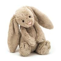 新低价:jELLYCAT 经典害羞系列 害羞邦尼兔公仔(小号18cm、浅棕色/郁金香色)