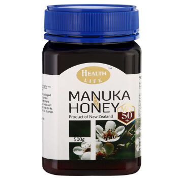 HEALTH LIFE 海斯拉夫 麦卢卡活性蜂蜜 MG100+ 500g