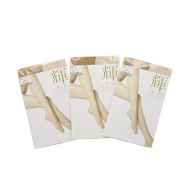 ATSUGI 辉系列 FP5031 女士超薄连裤袜 3双装