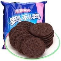 OREO 奥利奥 夹心草莓味饼干390g