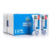 波兰 进口酸奶 优维多(YOVITOS) 常温酸奶 250g*15 整箱装