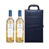 乐滋城堡 半甜白葡萄酒 750ml *2支礼盒装
