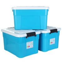 ailaiya 艾莱雅 Z1252 塑料收纳箱 45L*3个+凑单品