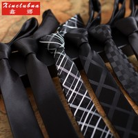 Xinclubna 男士 窄版领带*2条