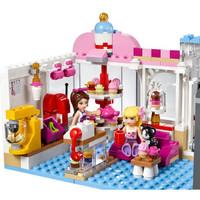 LEGO 乐高 Friends系列 41119 心湖城纸杯蛋糕咖啡厅