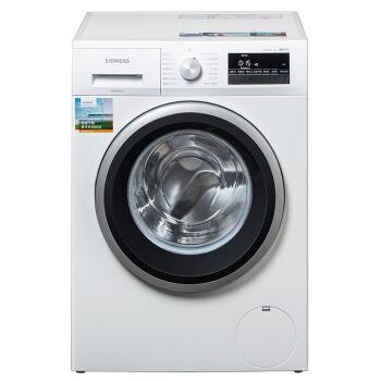 SIEMENS 西门子 WM12P2R09W 变频滚筒洗衣机 9公斤