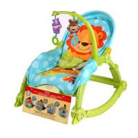 Fisher-Price 费雪 W2811 可爱动物多功能轻便摇椅+凑单品