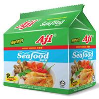 Aji 方便面 海鲜味 泡面五连包 85g*5袋×4