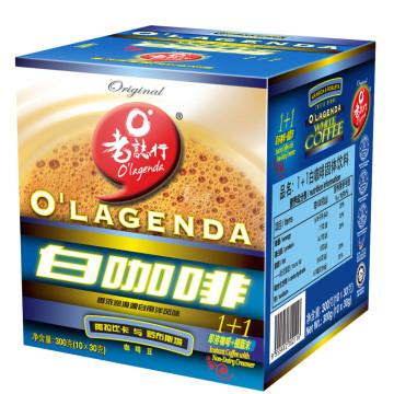 老誌行 1加1白咖啡 30g*10包
