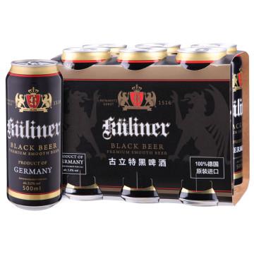 kuliner 古立特 黑啤酒 500ml*6*2件