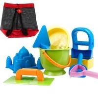 Hape 玩具沙滩9件套