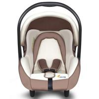 贝贝卡西 婴儿提篮式 儿童安全座椅 0-4月-1岁 米色