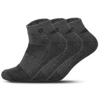 Wilson 威尔胜  WZ041-灰色 低帮运动船袜 3双装