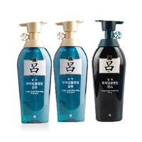 Ryoe 吕 控油去屑洗发水 2瓶+护发素 1瓶 500毫升/瓶