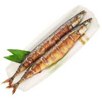 京鲁远洋 熟冻烤秋刀鱼 300g