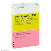 ZYMAFLUOR D500 婴幼儿维生素D 90片