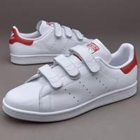 adidas originals stan smith 红尾魔术贴休闲鞋