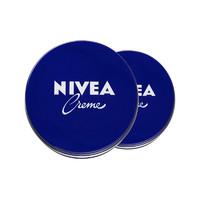 NIVEA 妮维雅 万用润肤霜/面霜 经典蓝罐 169g*2盒