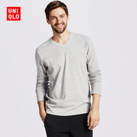 UNIQLO 优衣库 172339 男士柔软V领T恤