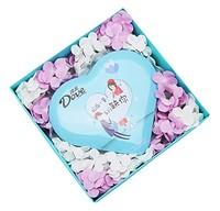 德芙 Dove 巧克力礼盒150g(蓝色心语巧克力150g +皂花礼盒)
