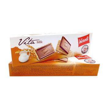 瑞士进口 万恩利Wernli 维塔牛奶味饼干115g