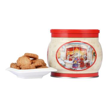 ROYAL DANSK丹麦凯尔森 迷你黄油曲奇饼干(圣诞节系列)250g/盒 丹麦进口