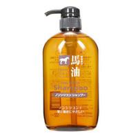 KUMANOYUSHI 熊野油脂 无硅油马油洗发水 600ml