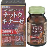 ORIHIRO  纳豆激酶胶囊 60粒