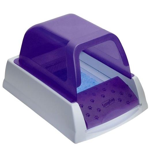 ScoopFree Ultra Self-Cleaning Litter Box 免铲终极自洁式猫砂盒