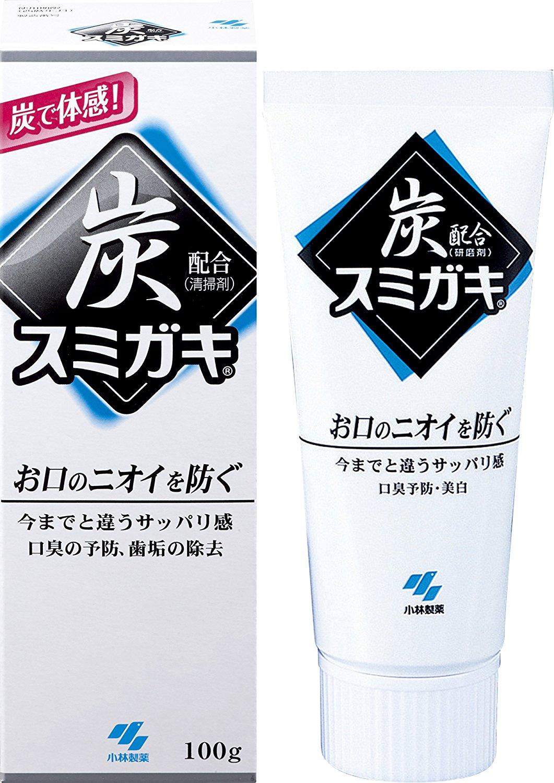 KOBAYASHI 小林制药 黑炭去渍防口臭牙膏 100g