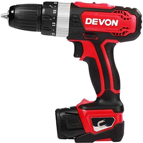 Devon 大有 5230-Li-12TSI 12V锂电池充电式双速三功能冲击钻