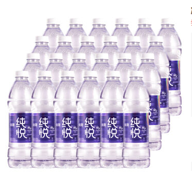 限西北 【京东超市】冰露纯悦 矿物质水 550ml*24瓶 整箱