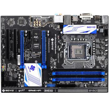 SOYO 梅捷 SY-Gaming B150 Combo 主板(Intel B150/LGA 1151)