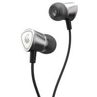 FIDUE 飞朵 A65 入耳式线控耳机 铬钢银