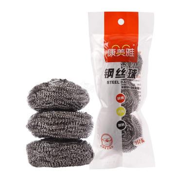 历史低价:康美雅 金属钢丝球 3只装 清洁球002-16(可满199-100)