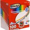 RoseArt SuperTip 3028 彩色可水洗马克笔(100支装) *3件