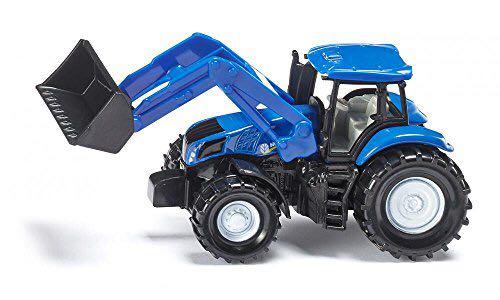 SIKU 德国 新荷兰拖拉机带前端装载臂 玩具车 U1355