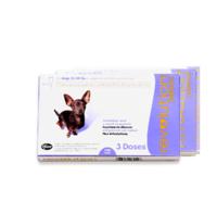 revolution 大宠爱 犬用驱虫药 300mg*3支 整盒装(2.5-5KG)