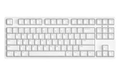 ikbc c87 樱桃轴机械键盘 87键原厂Cherry轴 白色 茶轴