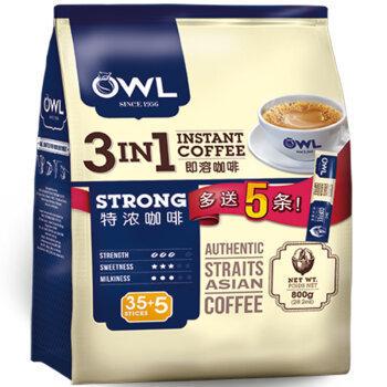 OWL 猫头鹰 三合一特浓咖啡 800g